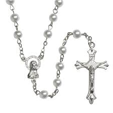 white rosary catholic rosary affordable rosaries give aways retreats autom