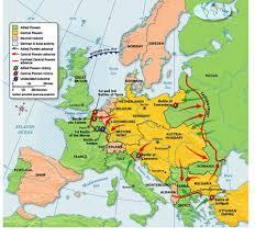 Europe Map 1914 Europe 1914 Mrs Flowers History