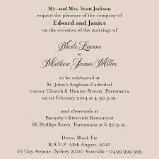 Proper Wedding Invitation Wording Marriage Invitation Card Messages Paperinvite
