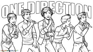 celebrity one direction coloring pages 22741 coloringbus com