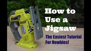 How To Cut Laminate Flooring With A Jigsaw How To Use A Jigsaw The Easiest Tutorial For Newbies Thrift