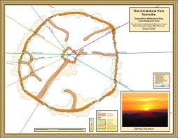 Mesa College Map Circlestone Superstition Wilderness Arizona