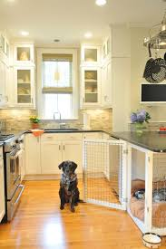 garage dog kennel magnificent dog crate covers in kitchen transitional with garage dog