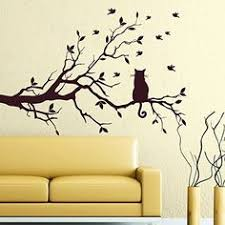 Wall Stickers For Kitchen by Tree Wall Decals Bird Decal Vinyl Sticker For Kitchen Window