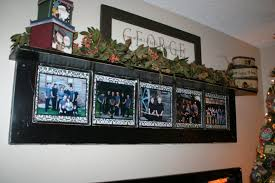 diy rustic decorating a door picture frame homestylediary com