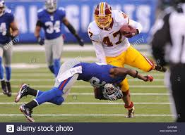 washington redskins tight end chris cooley 47 breaks a new york