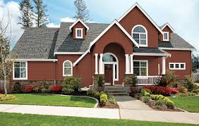 Exterior Paint Colors With Brick Midwestern House Colors