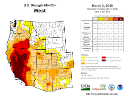 Map Of Mexico West Coast by Drought February 2015 State Of The Climate National Centers