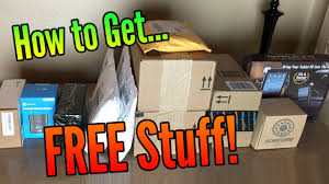 how to get free stuff to review on