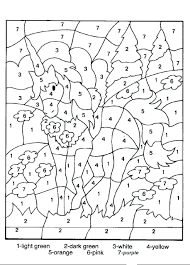 number 4 coloring page printable sheet 3 pages 5 for toddlers