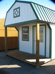 better built portable buildings lofted porch idolza