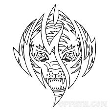 how to draw a tiger tattoo u2013 pop path
