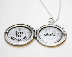 personalized locket necklace personalized locket etsy