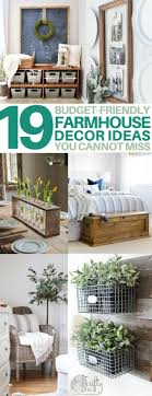 19 diy farmhouse decor ideas to style your fixer on a budget