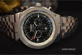 breitling bentley on wrist men u0027s breitling for bentley limited edition 49mm gmt stainless