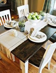 White And Oak Kitchen Table Foter - White and wood kitchen table