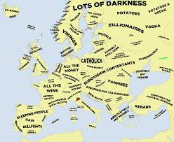 Travel Map Of Europe by The Definitive Stereotype Map Of Europe Funniest Map Ever Top Of