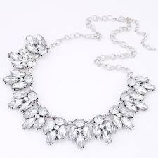 crystal silver necklace images Best 25 silver statement necklaces ideas loafers jpg