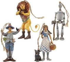 jim shore heartwood creek set of 4 wizard of oz ornaments page 1