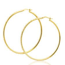 9ct gold hoop earrings 9ct gold diamond hoop earrings the best jewelry 2017 photo