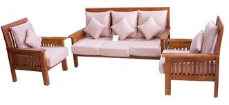 Sofa Set Alphanso Corner Sofa Set Manufacturer From Cyberabad - Teak wood sofa set designs