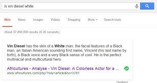 Memes Google Images - vin diesel s ethnicity according to google memebase funny memes