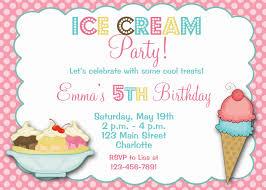 Frozen Invitation Cards Ice Cream Party Invitations Theruntime Com