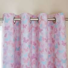 Pink And Grey Curtains Maisie Pink Blackout Eyelet Curtains Dunelm