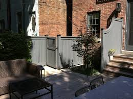 los angeles fence gate ideas landscape midcentury with limewash
