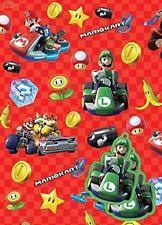 mario wrapping paper wrapping paper ebay