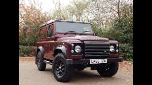 land rover bowler 2015 land rover defender with bowler stage 2 conversion youtube