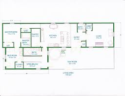 open floor plans for homes with open concept floor plans for homes