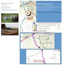 Spokane Washington Map Contact Spokane Sport Horse Farm