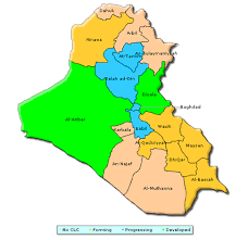 map of irak mapping iraq s concerned local citizens programs fdd s war