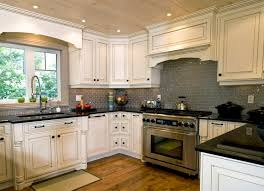 kitchen cabinets with backsplash kitchen white cabinets backsplash and photos