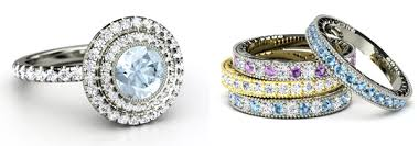 gemstone wedding rings gemstone wedding bands wedding bands wedding ideas and inspirations