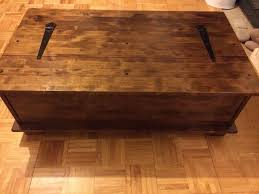 laura ashley garrat chestnut large 12 drawer coffee table in for