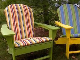 Adarondak Chair How To Make An Adirondack Chair Cushion Video Sailrite