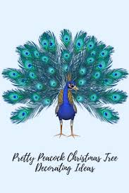 peacock christmas tree decorating ideas for peacock christmas home
