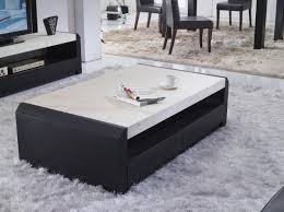 Marble Coffee Table Furniture White Marble Coffee Table With White Furry Rug And