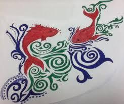tribal fish design by princessopal on deviantart