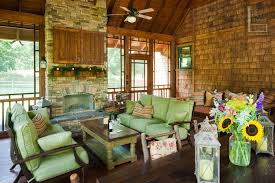 large screened porch with decor the porch companythe porch company