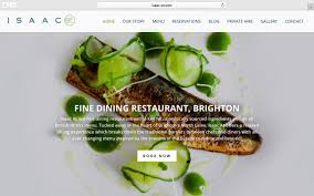 website design for isaac at u2013 oli pyle