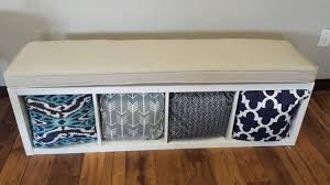 Seat Bench Cushions Ikea Kallax Custom Cushion For Nursery Playroom