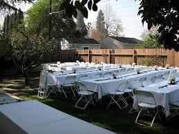 Backyard Weddings On A Budget Backyard Wedding Ideas On A Budget Outdoor Goods