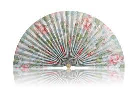 decorative fan decorative pleated fan style 384