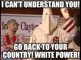 White Power Meme - white power imgflip