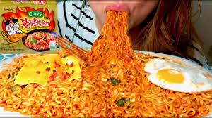 korean fire noodles fire
