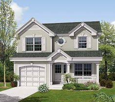 Small Country House Designs W3439 V1 Transitional Small Home With Functional Open Floor Plan