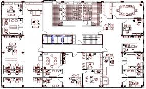 admin building floor plan flooring administration building office architecture layout plan dwg